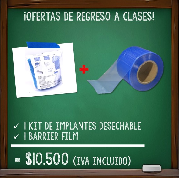 Barrier Film + Kit Esteril Para implantes