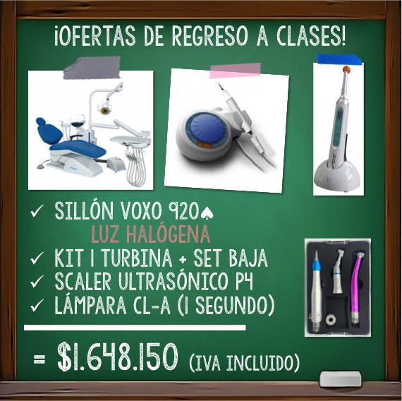 Voxo 920A + Lampara de 1SEG + Scaler P4 + Kit de 1 Turbina + Set de Baja  IVA INCLUIDO